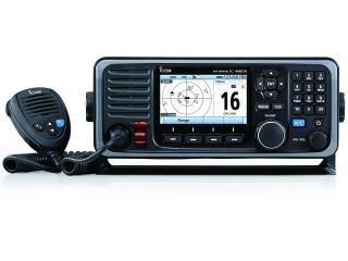 IC-M605 EURO - Radio fixo de VHF com DSC e AIS