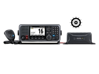 GM600 - GMDSS VHF radio with DSC and a 10.8A CC-CC converter