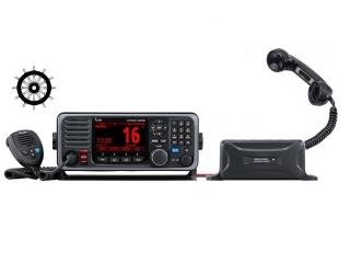 GM600 - Rádio de VHF GMDSS com DSC e conversor CC-CC de 21.6A e microtelefone HS-98