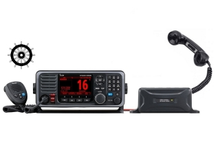 GM600 - GMDSS VHF radio with DSC and a 10.8A CC-CC converter & HS-98 Handset