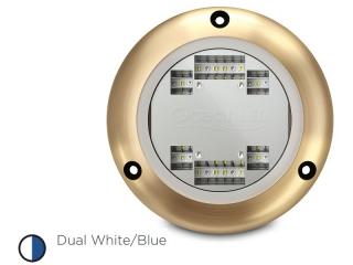 S3124s Sport Series - Luz LED Subaquática Dual Branco/Azul