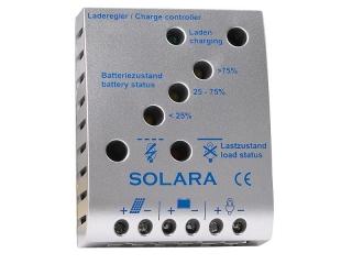 SR175TL - Controlador de Carga 12/24V, 10A, até 180Wp, LVD,  indicador LED