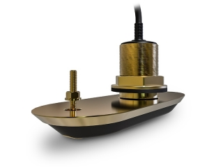 RV-200 RealVision 3D Bronze Through Hull Transducer 0°. Direct connect to Axiom (8m cable)