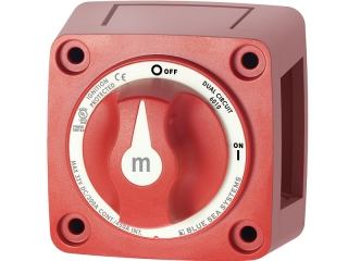 6010 - m-Series Mini Dual Circuit Battery Switch - Red