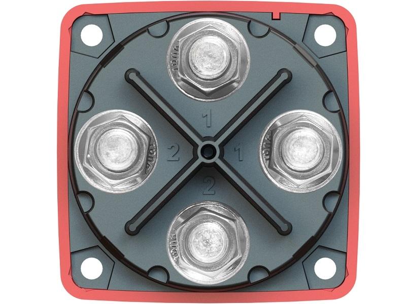 6011 - Comutador de Bateria Série-m mini Dual Circuit Plus