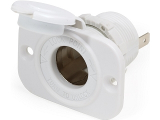 1011200- Tomada de Isqueiro 12V - Branca