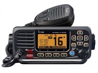 IC-M330GE - Mounted VHF Marine Radio w/ Class D DSC & GPS