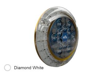 Piranha P24 SM Branco Diamante - Luz LED Subaquática de 10.000 lúmenes