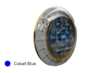 Piranha P24 SM Cobalt Blue - Surface Mounted LED Underwater Boat Light