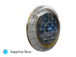 Piranha P24 SM Sapphire Blue - Surface Mounted LED Underwater Boat Light