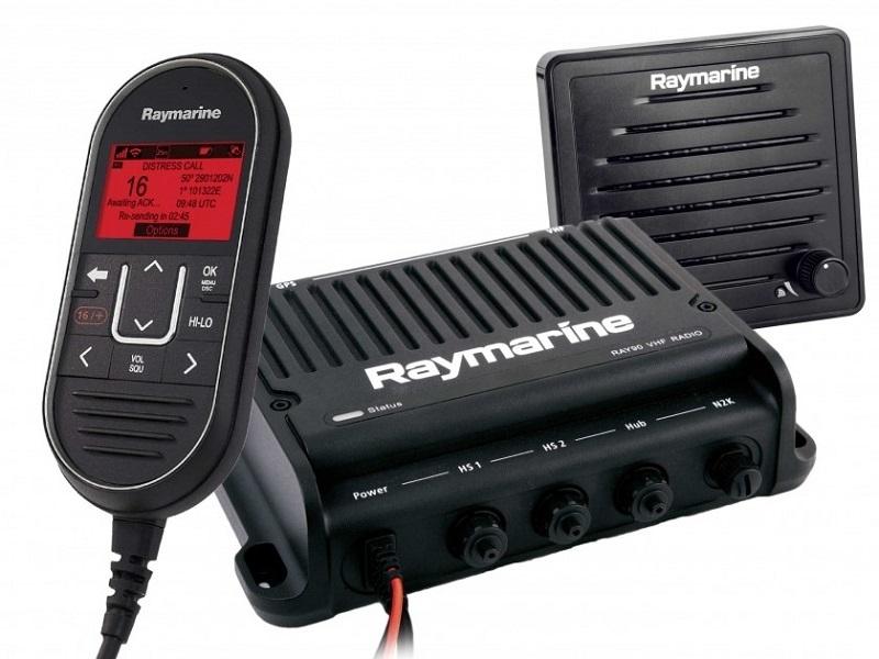 Ray90 – Modular Dual-Station Marine VHF Radio System