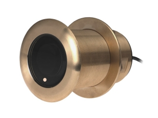 A80033 B75 L – 12° Element 300W Bronze Through-Hull Transducer