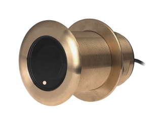 A80017 B75 M – 0° Element 600W Bronze Through-Hull Transducer