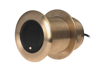 A80036 B75 M – 20° Element 600W Bronze Through-Hull Transducer