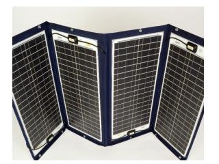 TX-42252 - Painel Solar de 200Wp e 24V, Desdobrável c/ Moldura Têxtil