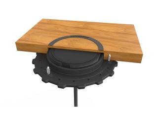 SC-CW-01 ROKK Wireless – Carregador s/ Fios à Prova de Água p/ Instalação Sub Superfície