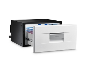 CoolMatic CD-20W - 20 liter Compact Drawer Fridge - White