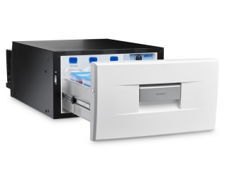 CoolMatic CD 30W - 30 liter Compressor drawer fridge – White
