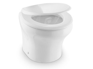 MasterFlush MF 8116 – Low Profile Electric Macerator Toilet – 24V