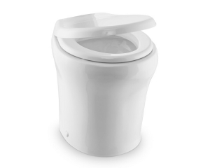 MasterFlush MF 8979 – 12V Electric Macerator Toilet, Standard Height