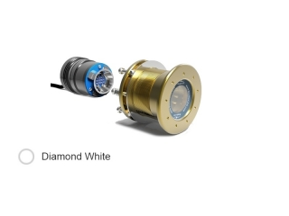Mako M12 IFM - 24V Diamond White 6.100 Lumen Underwater LED Light