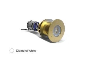 Great White GW20 - Luz LED Subaquática, Branco Diamante, 13.000 Lumens e Montagem Passa Casco
