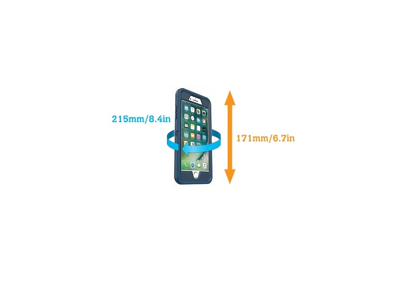Waterproof Phone PlusPlus Case Grey