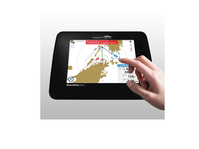 WatchMate Vision2 smartAIS - Touchscreen AIS Transponder with Wi-Fi and NMEA 2000 Gateway