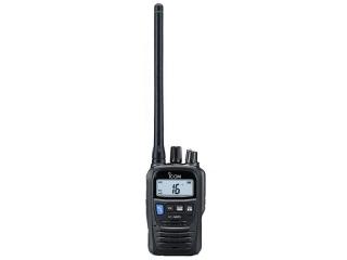 IC-M85E – Handheld Hybrid Marine VHF Radio w/ PMR Capability