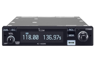 IC-A220 TSO – Air Band Panel Mount VHF Transceiver