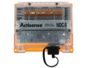 NDC-5 – Multiplexador NMEA 0183 de 5 entradas e 2 saídas isoladas