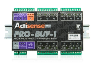 PRO-BUF-1-BAS-R - Professional NMEA 0183 Buffer w/ pluggable screw terminals