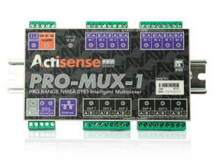 PRO-MUX-1-BAS-R Professional NMEA 0183 Multiplexer w/ pluggable screw terminals