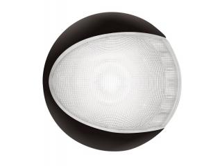 White EuroLED 130 – Black Rim White LED Lamp
