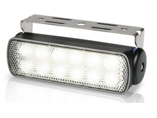 Sea Hawk – Spread White LED Floodlights in Black Housing and Bracket Mount