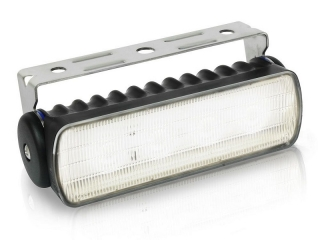 Sea Hawk-R LED Floodlight in Black Housing, with White LED and Bracket Mount