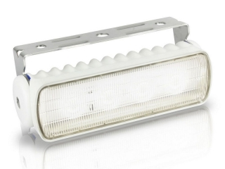 Sea Hawk-R LED Floodlight in White Housing, with White LED and Bracket Mount