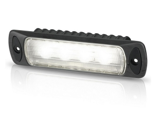 Sea Hawk-R Spread Recess LED Floodlight in Black Housing, with White LED – Recess Mount