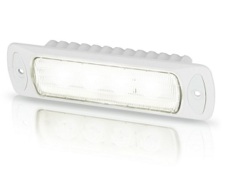 Sea Hawk-R Spread Recess LED Floodlight in White Housing, with White LED – Recess Mount