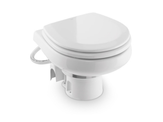 MasterFlush MF 7260 – Low-profile electric sea water macerator toilet
