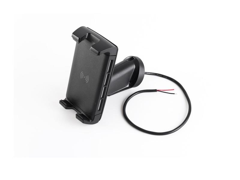 ROKK Wireless EDGE Multi Adjustable 12V / 24V Waterproof Wireless Phone Charging Mount