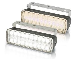 Sea Hawk XL White/Warm Black Housing Colour LED Floodlights