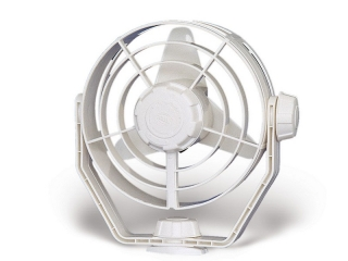 2 Speed 'Turbo' Fan - 12V White Fan