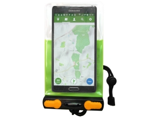 Budget Aquasac Green - Waterproof Phone Case