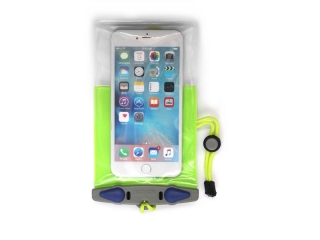 Waterproof Phone Plus Case Green