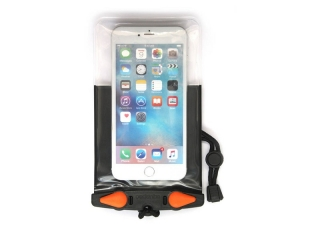 Waterproof Phone Plus Case Black