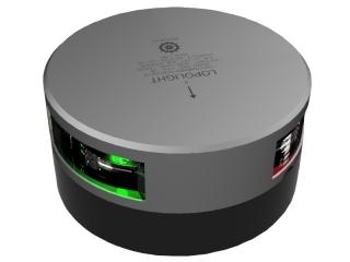 Luz LED de Navegação Circular Bicolor visível a 1 mn, c/ 2.5m de cabo