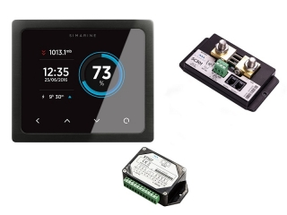 PICO Standard Package – Monitoring Pack w/ black panel-mount PICO Display w/ Shunt module and ...