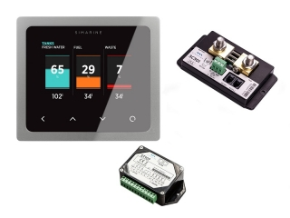 PICO Standard Package – Monitoring Pack w/ silver panel-mount PICO Display w/ Shunt module and ...