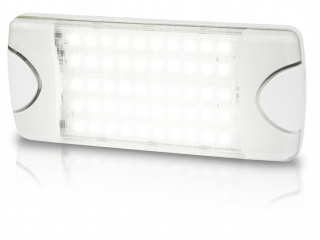 DuraLED 50LP Wide Spread White LED low profile Lamp for interior, 375 Lux @ 1m, 100° beam